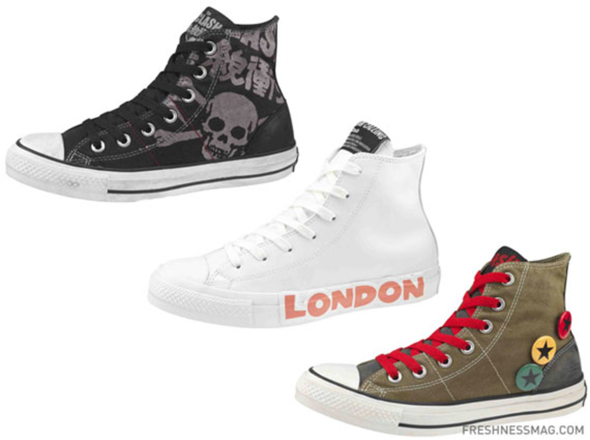 Converse - Spring 2010 - Chuck Taylor All Star Punk Collection ... cae689696