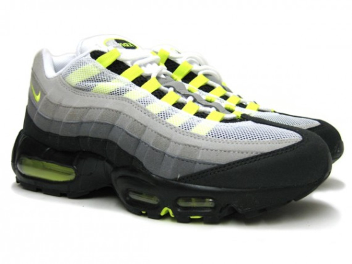Nike Now Available Air 95 Neon Max Cool Grey Yellow qraqC
