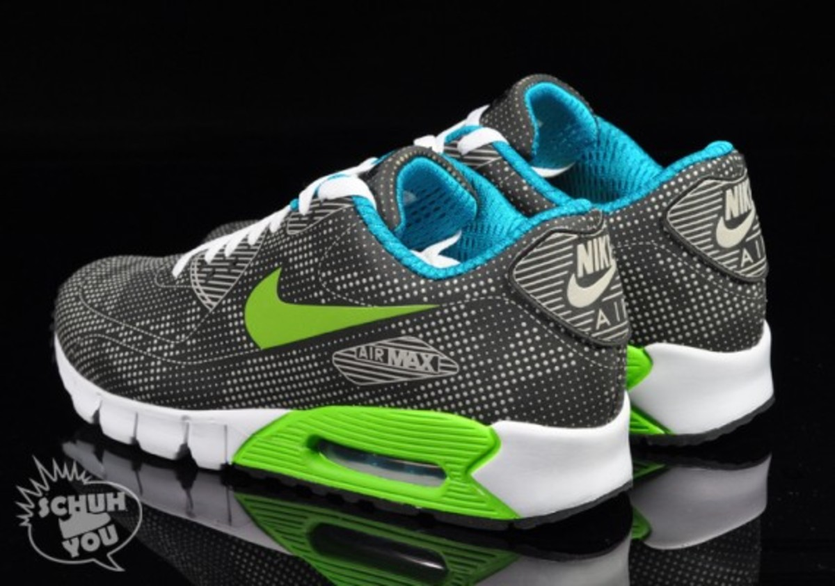 Nike Air Max 90 Current Moire BlackElectric Green