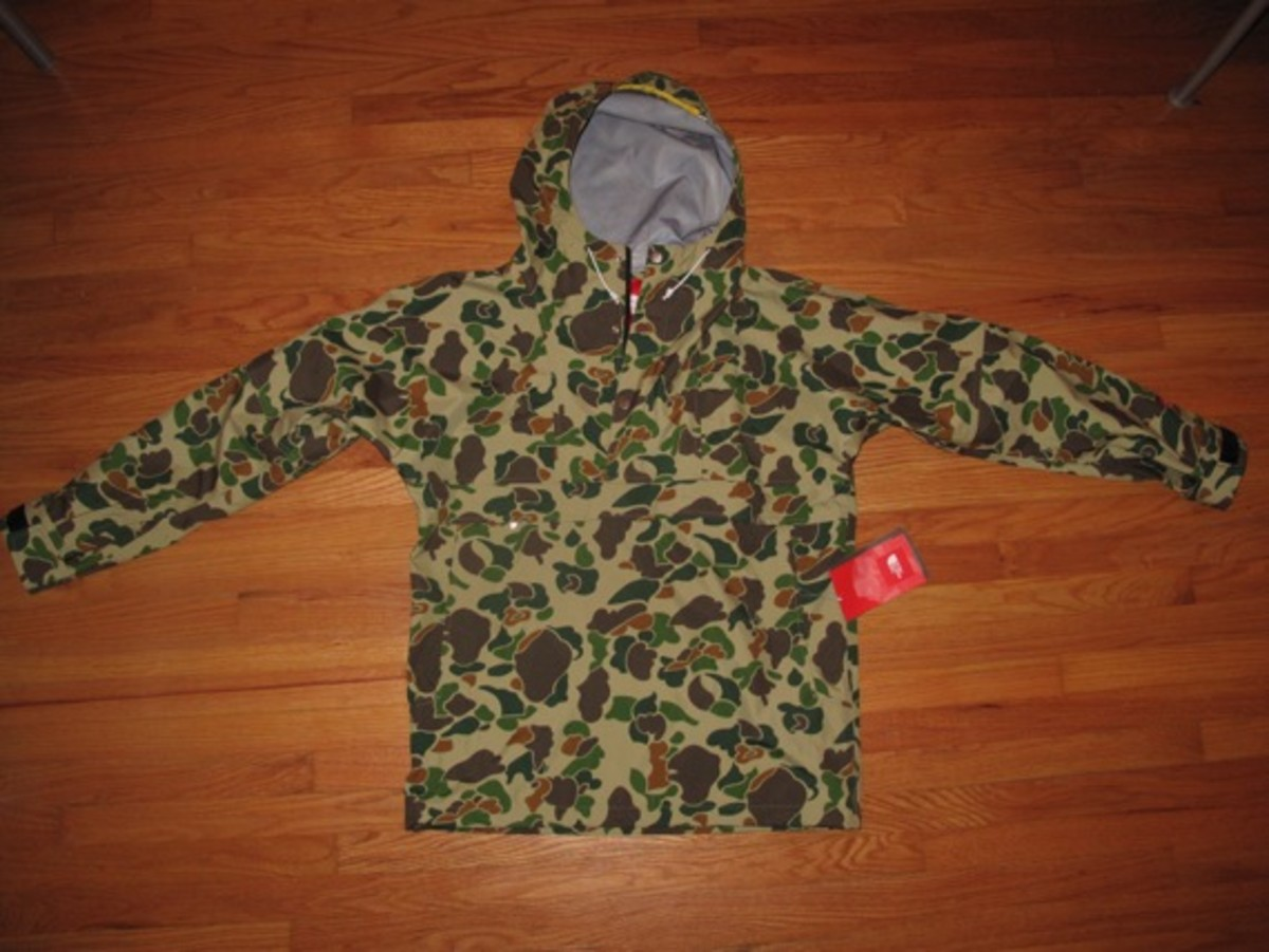Supreme X The North Face Camouflage Pullover Shell Jacket