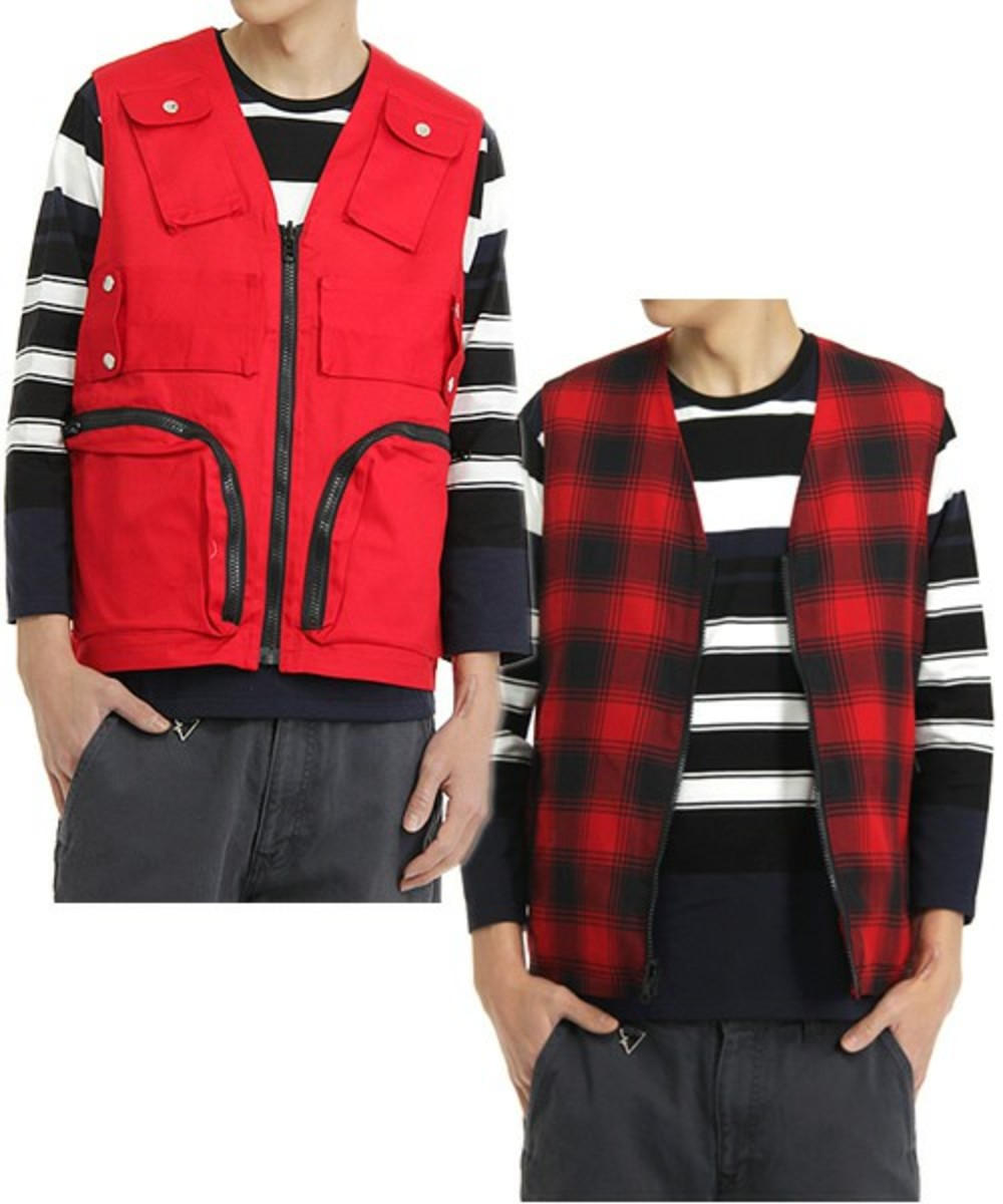 function-vest-red