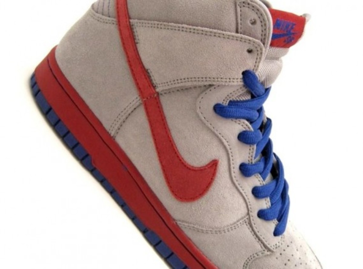 68ac8736ea Nike SB Dunk High - Medium Grey - Varsity Red - Old Royal ...