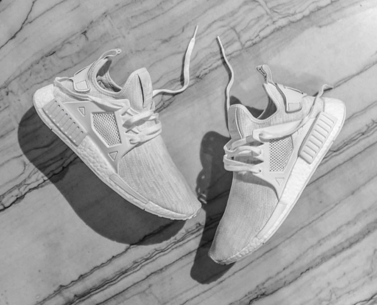 huge discount 990ce 7f137 The adidas NMD Gets Caged With This All White XR1 ...
