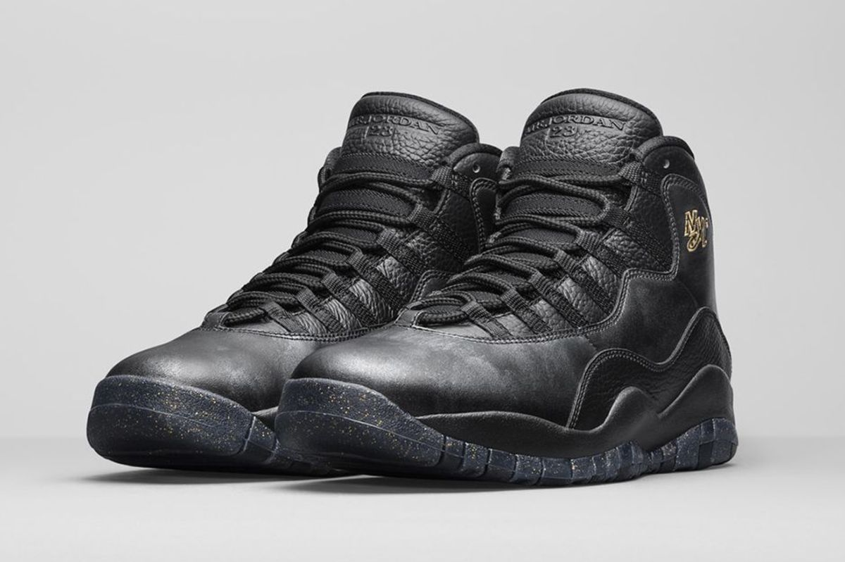 The Air Jordan 10 Retro u0026quot;New Yorku0026quot; Launches This Weekend - Freshness Mag