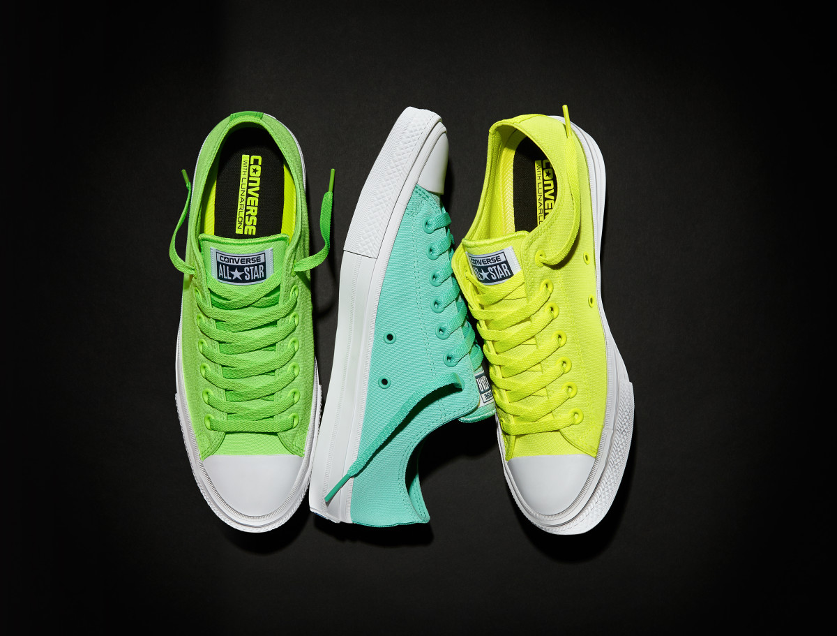 The Converse Chuck Taylor Ii Quot Neon Quot Collection Is