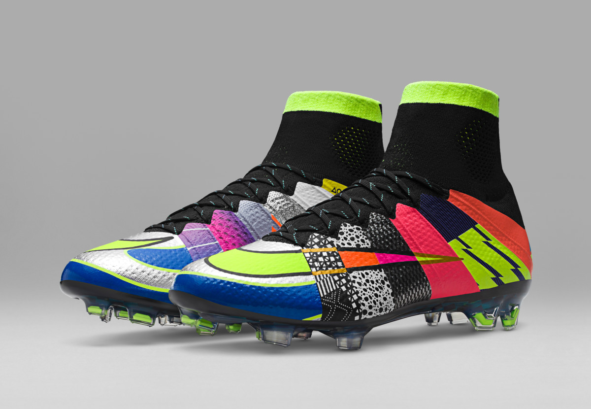 "The Nike Mercurial Gets the Multi-Colored ""What The ..."