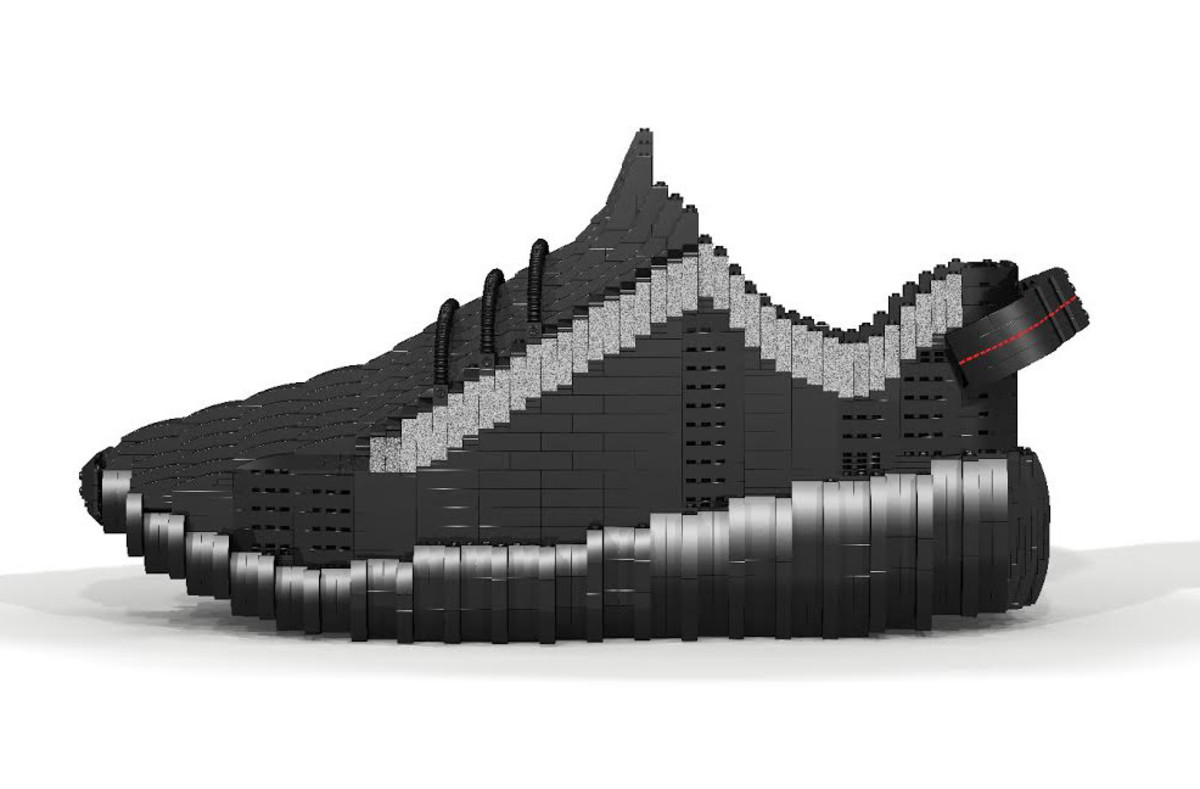 26ee9f37ef9 Tom Yoo s Latest LEGO Creation Is the Yeezy Boost 350
