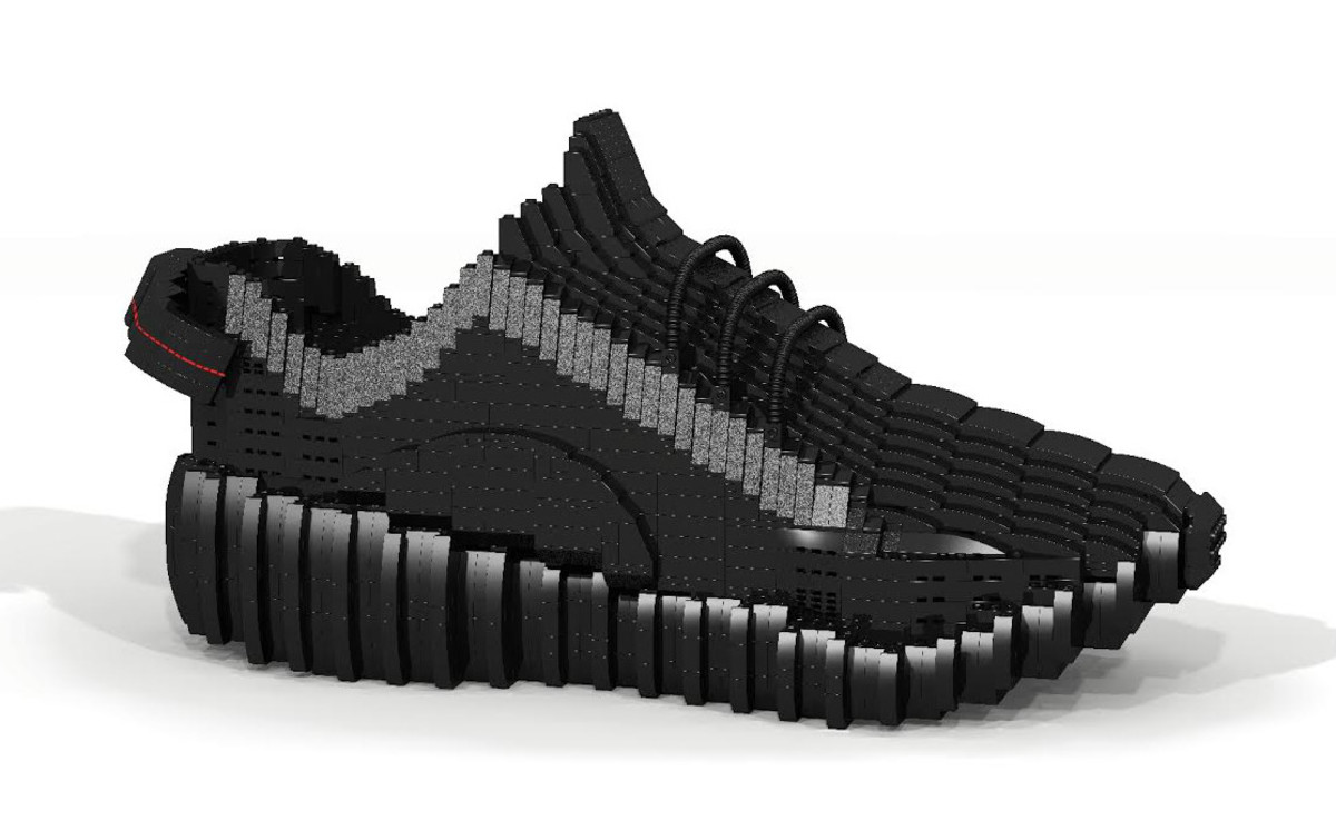 huge selection of 4780c 48440 Tom Yoo's Latest LEGO Creation Is the Yeezy Boost 350 ...