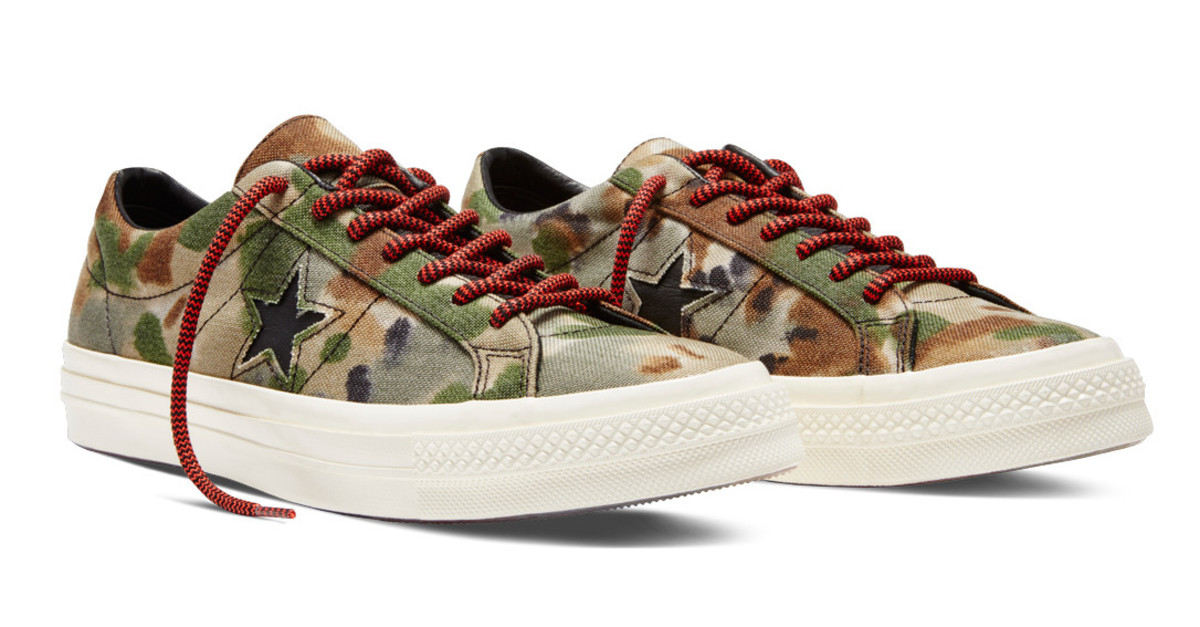 27ae9e29ac Converse Updates Its One Star  74 With Camo Colorways - Freshness Mag