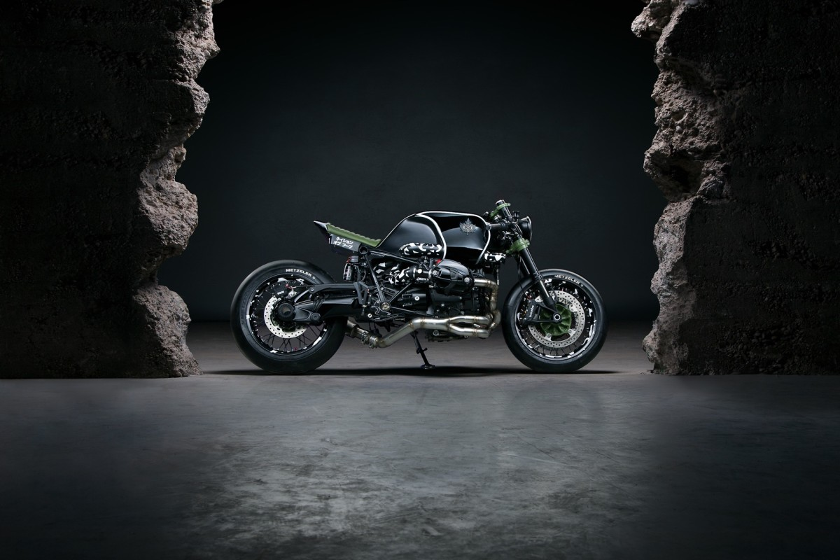 Two German Firms Dream Up An Aggressive Custom Bmw Cafe Racer