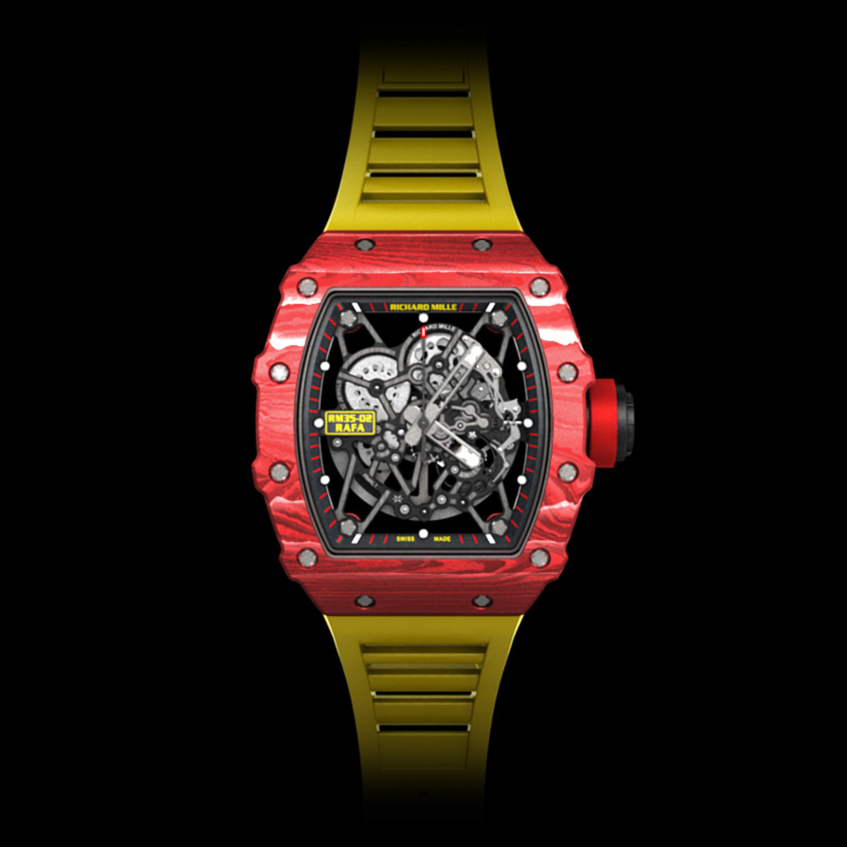Richard Mille Unveils The Rm 35 02 Rafael Nadal Quartz Tpt Watch Freshness Mag