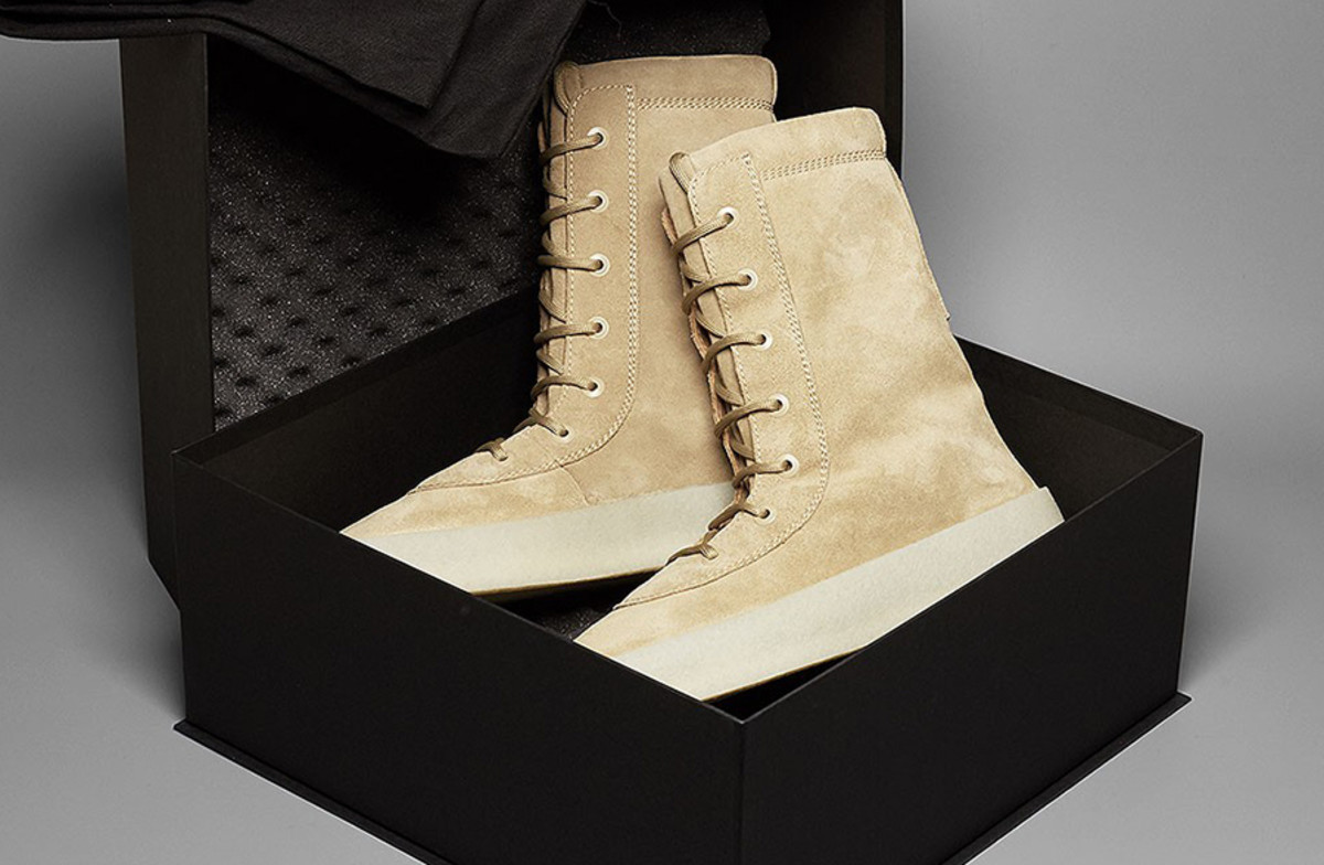 0b375111c33 The Yeezy Season 2 Crepe Boot Arrives Next Week - Freshness Mag