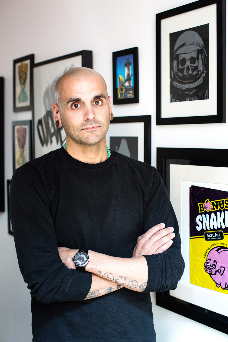 Bryan Cioffi, Vice President and the Creative Director of Global footwear