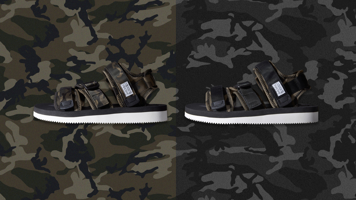 379ebc6c71 END.   Suicoke Team Up on Exclusive Camo-Print Sandals - Freshness Mag