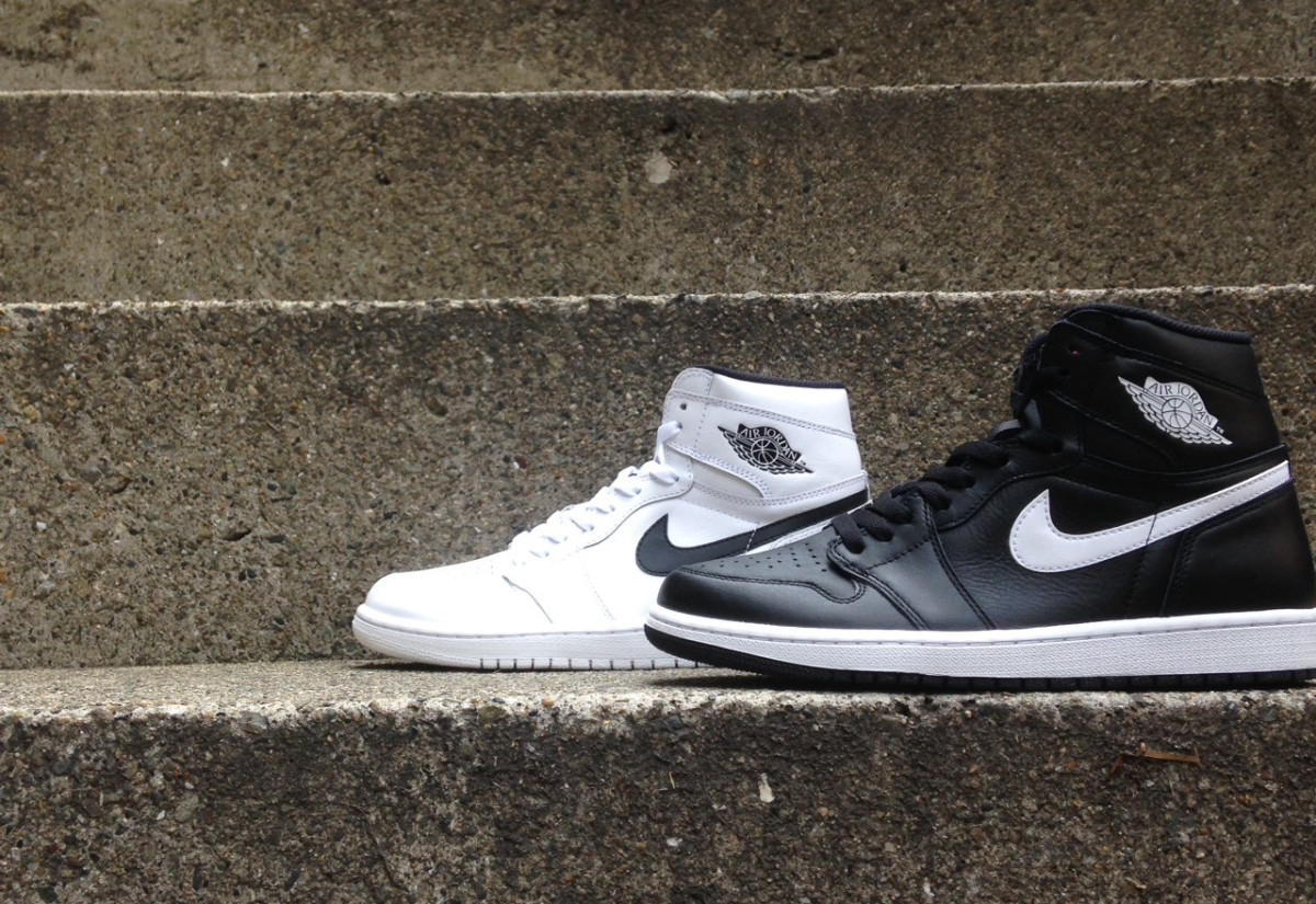 fded283c75a7 A First Look at Upcoming Black and White Air Jordan 1 Colorways ...