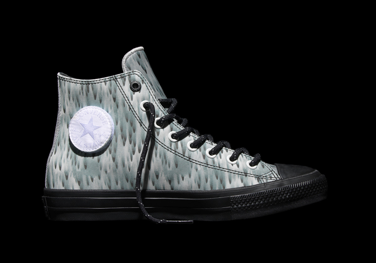 c446ad3ef4281 Image via  Converse. Image via  Converse. Converse is set to launch its  second Chuck Taylor All Star II collaboration with the legendary graffiti  artist ...