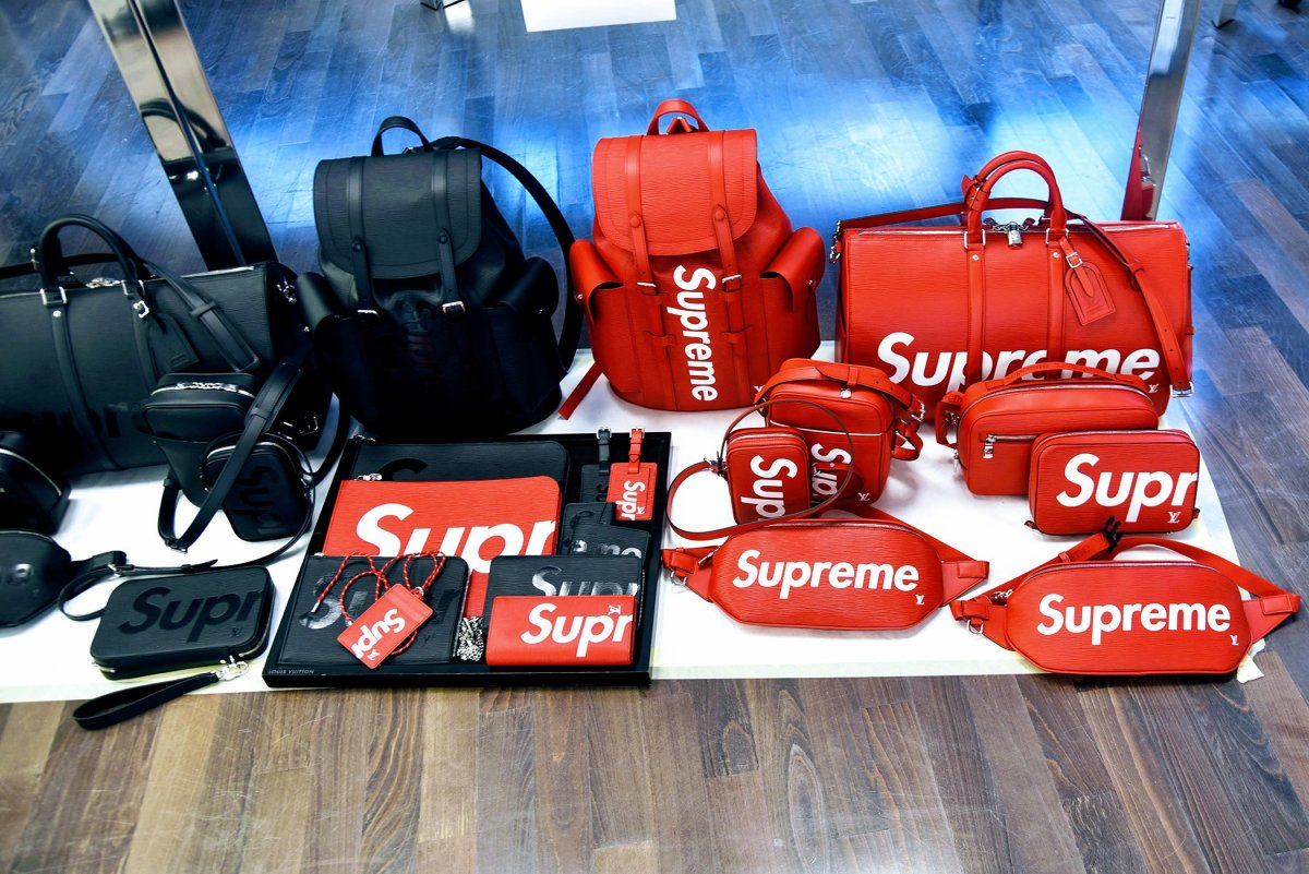 57da2813039 Here s a First Look at the Entire Supreme x Louis Vuitton ...