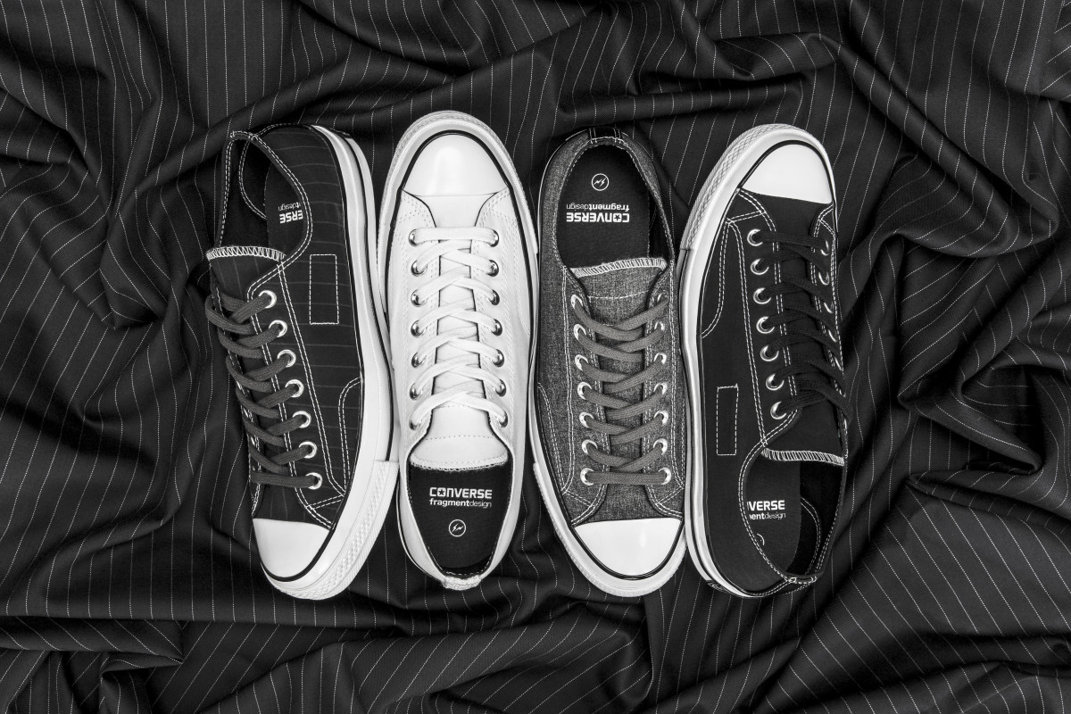 4aaba94bb19a Converse Teams Up With fragment design on the Chuck Taylor All Star ...