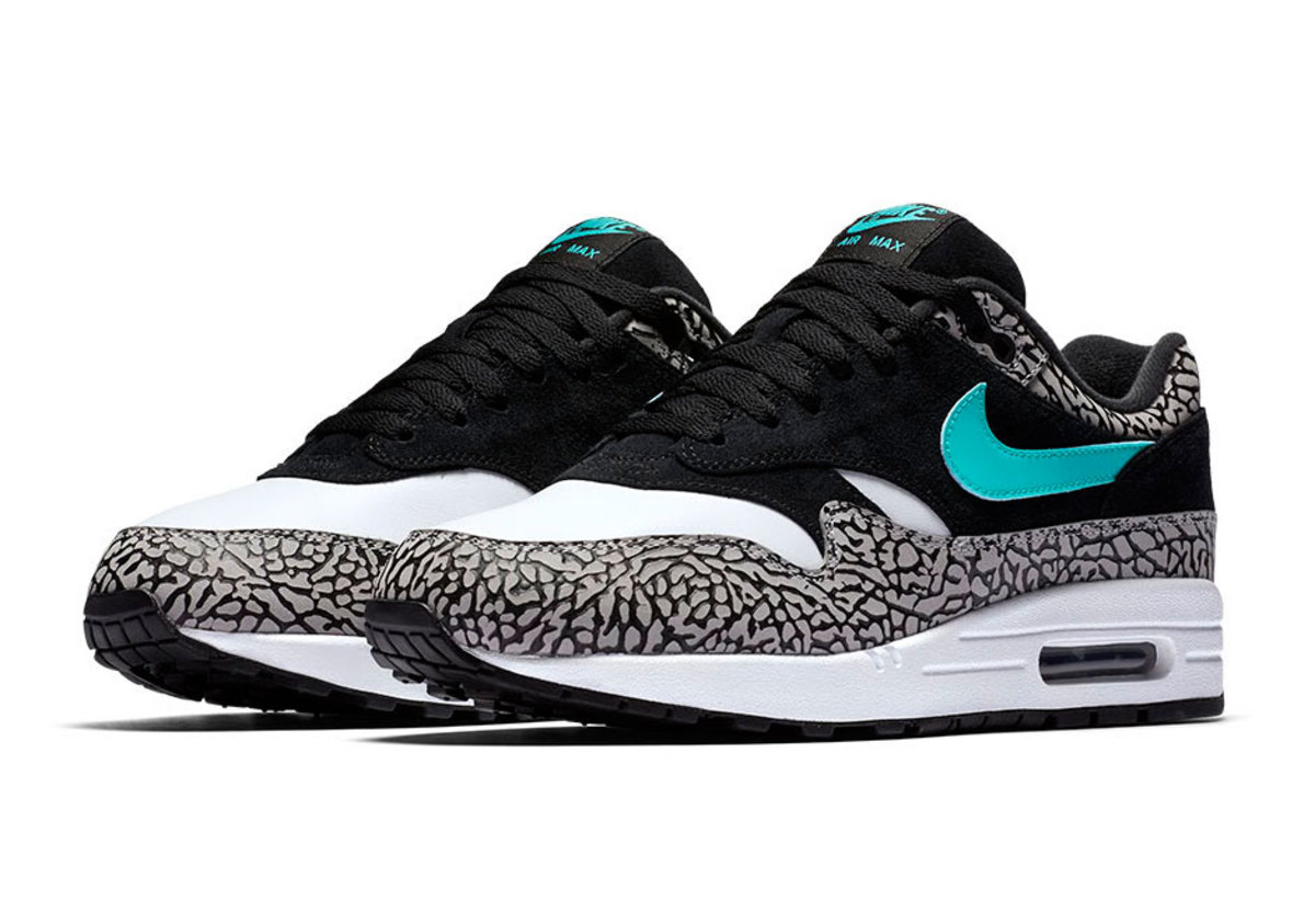 """premium selection 0abef aabc8 Image via  Sneaker News. Image via  Sneaker News. When we say the atmos x  Nike Air Max 1 """"Elephant"""" is back ..."""