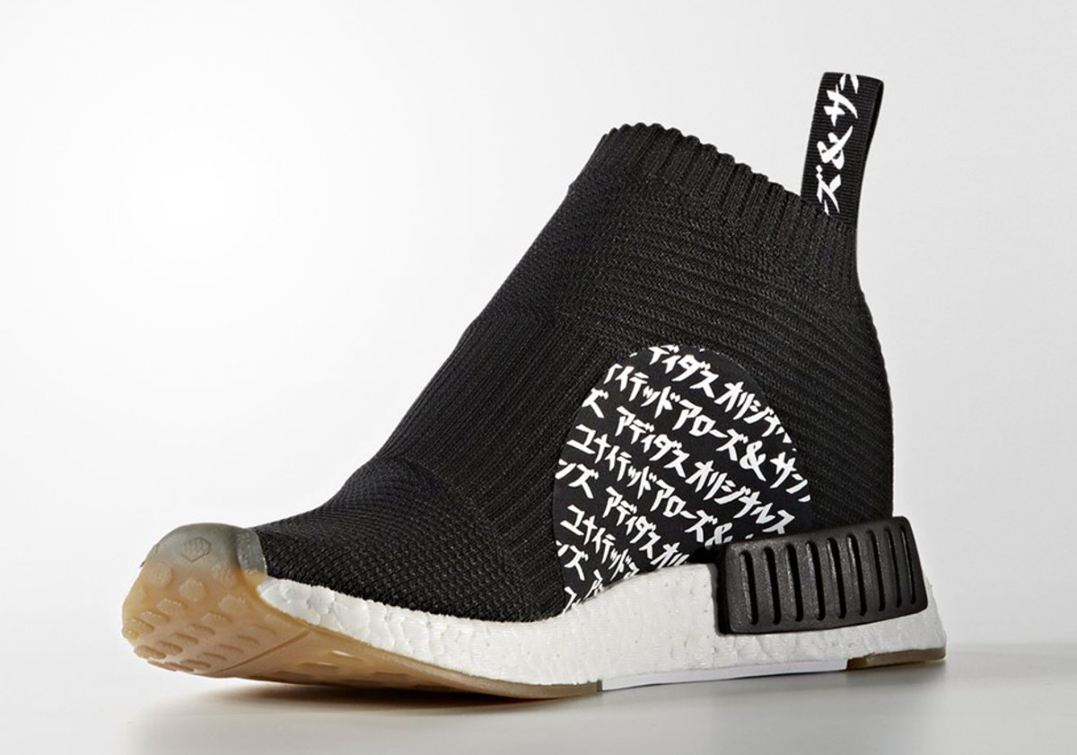brand new 32499 ae8c9 The UNITED ARROWS & SONS x MIKITYPE x adidas NMD City Sock ...