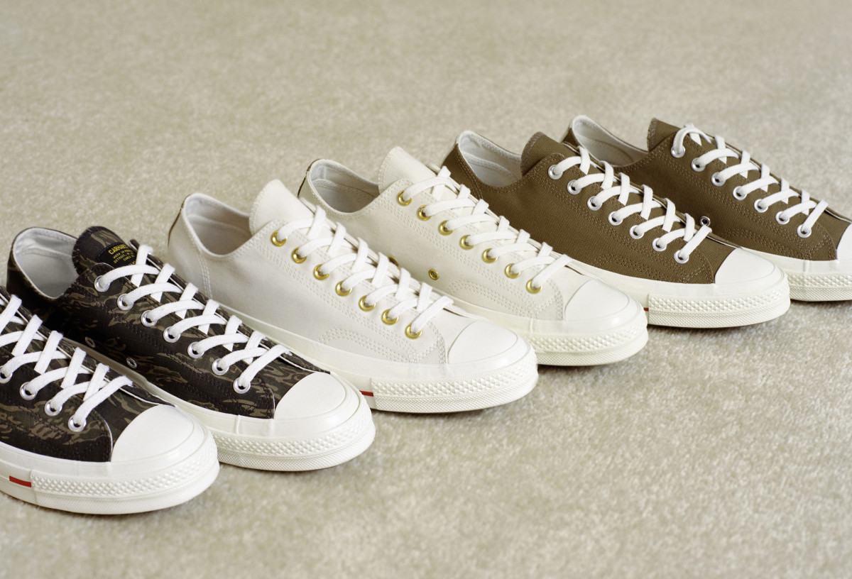 96a14fc946ae Converse   Carhartt WIP Join Forces on a Trio of Chuck Taylor  70 ...
