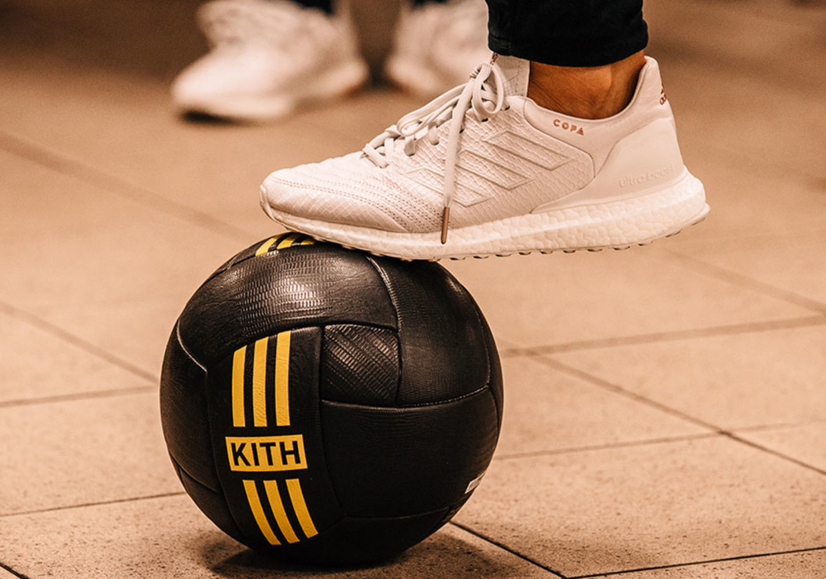 brand new c7fb5 dec9e Kith Unveils adidas Soccer Collaborations for Its NYC  Miami