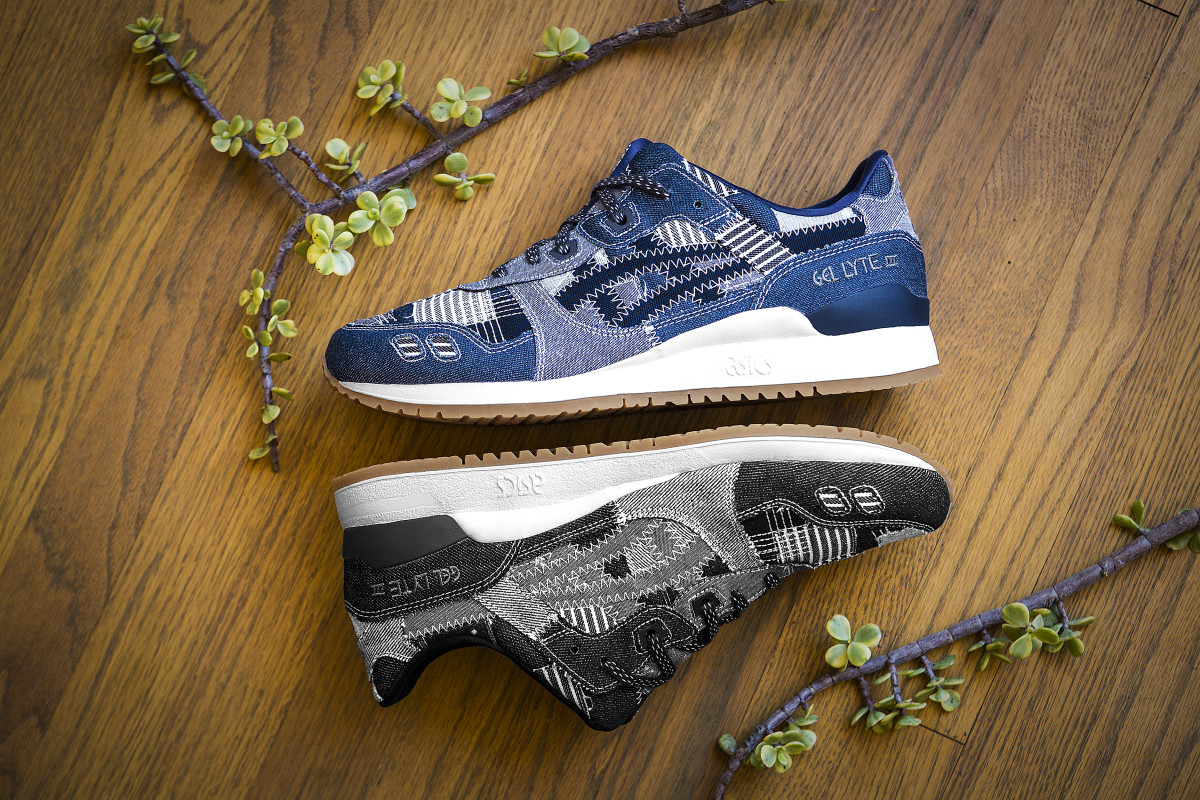 """ASICS Tiger Recalls Its Japanese Heritage With the GEL-Lyte III """"Ranru"""" Pack - Freshness Mag"""
