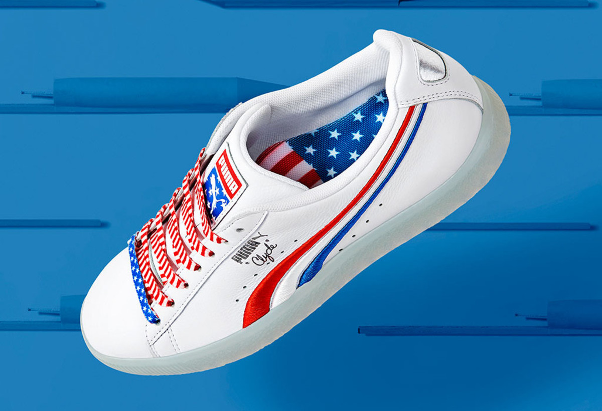 premium selection dba74 f4be4 The PUMA Clyde Gets Patriotic for the 4th of July ...