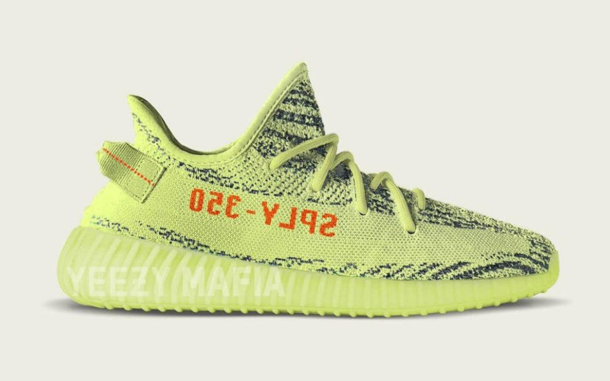 The adidas YEEZY BOOST 350 V2 \