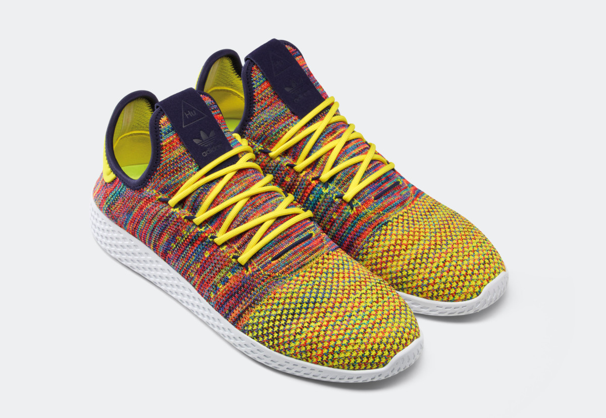 02feab7c52073 Pharrell   adidas Originals Debut Four New Colorways of the Tennis ...