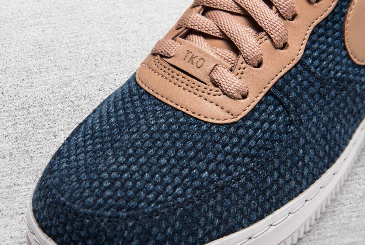 4cad1452c Nike Debuts a Japan-Made Air Force 1 Featuring a Hand-Dyed Indigo ...