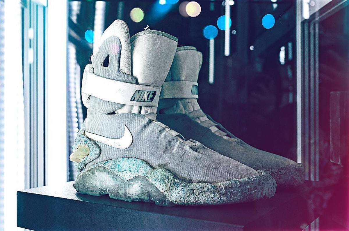 Original 1989 Nike Mag To Be Auctioned Off Freshness Mag