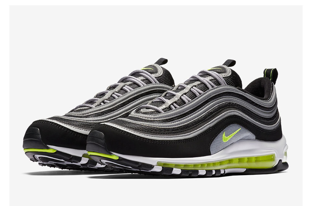 the nike air max 97 is returning in the fan favorite neon. Black Bedroom Furniture Sets. Home Design Ideas
