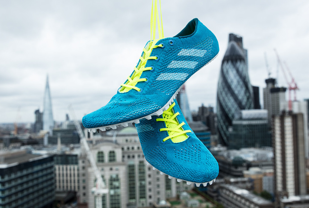 adidas Unveils First Running Spike With Parley Ocean Plastic ... 1cde82383