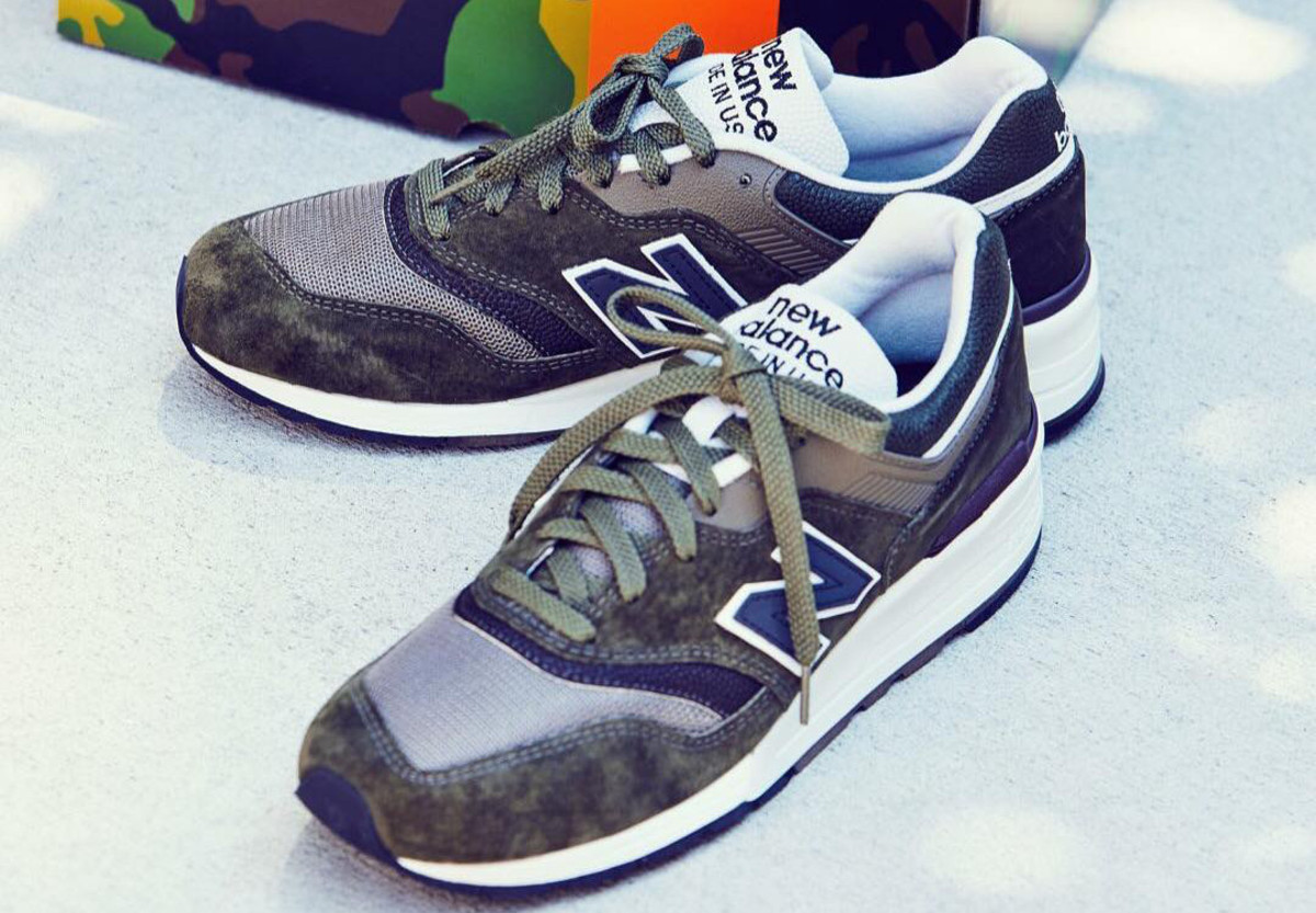 J.Crew and New Balance Team Up on the 997