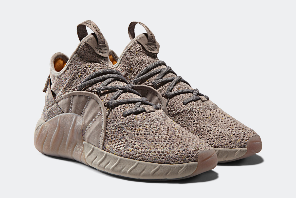 7524abf9d2208 adidas Originals Debuts the Tubular Rise in a Tonal Tan Colorway ...
