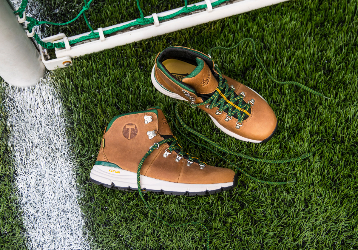 Danner Teams Up With The Portland Timbers On A Limited