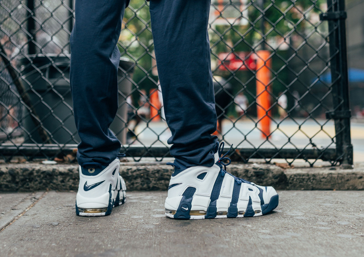 Image via: Kith. Image via: Kith. Next Wednesday, the Olympic colorway of Scottie  Pippen's Nike Air More Uptempo ...