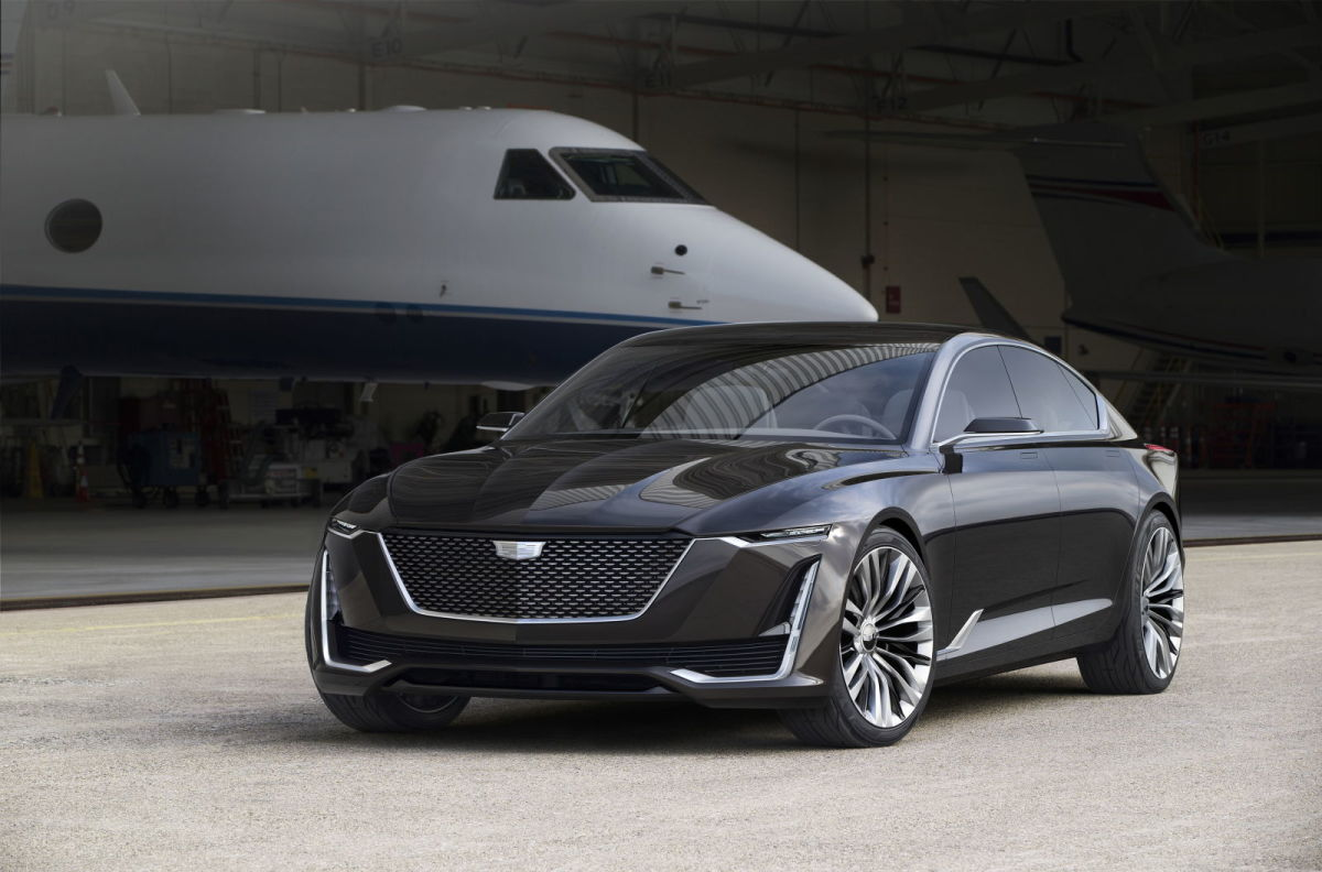the escala concept could become the cadillac flagship of