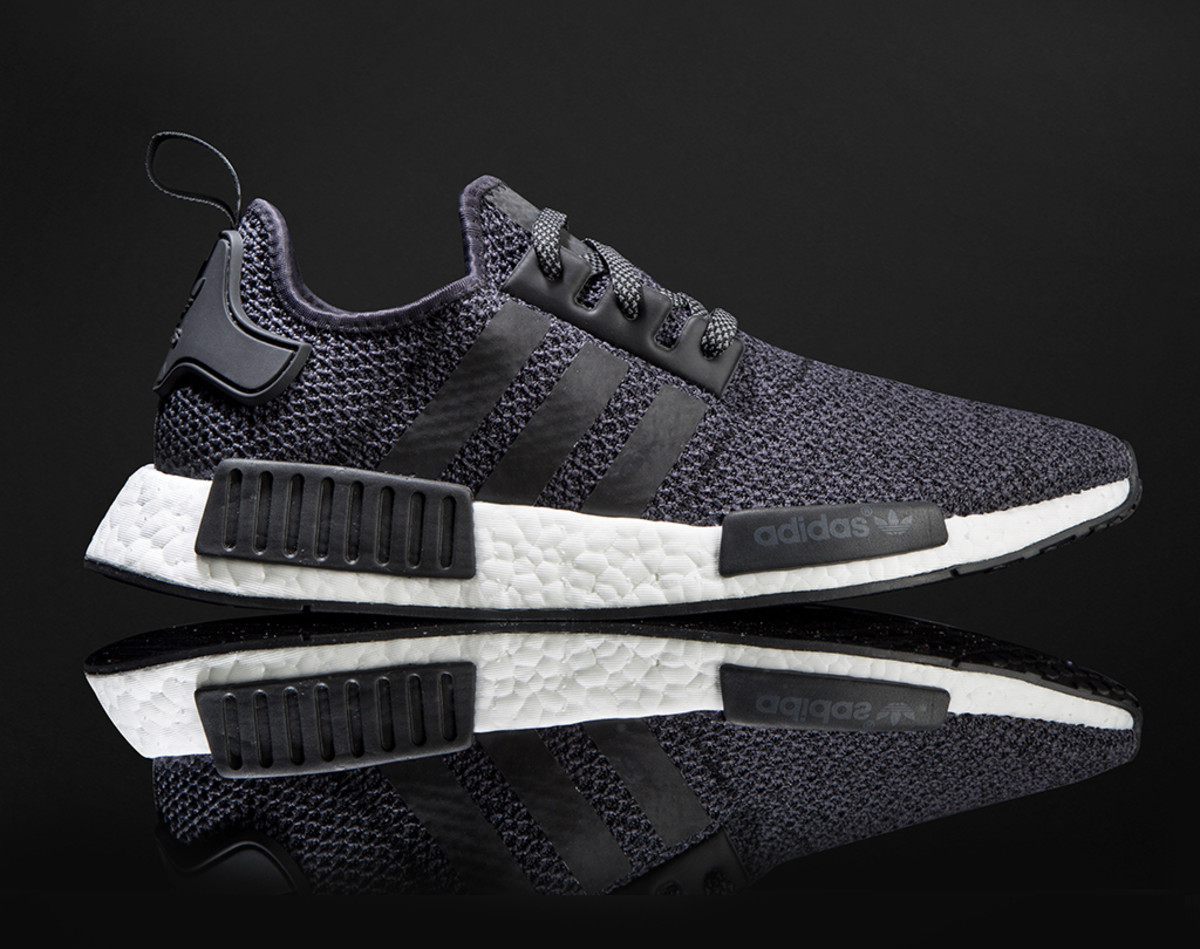 Adidas NMD R1 Grey Wool Charcoal BW0616 Men's Sizes 8 13