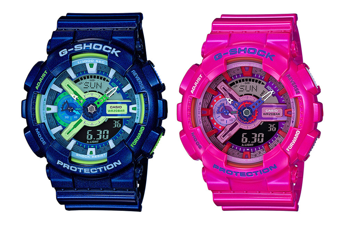 78d4328ad G-Shock Presents the Eye-Catching GA-110MC Crazy Color Series ...
