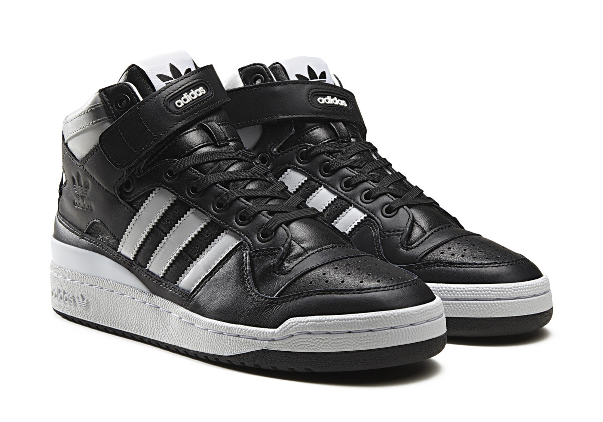 319a2d95e42 adidas Originals Brings Back the Forum Mid With Subtly Refined ...