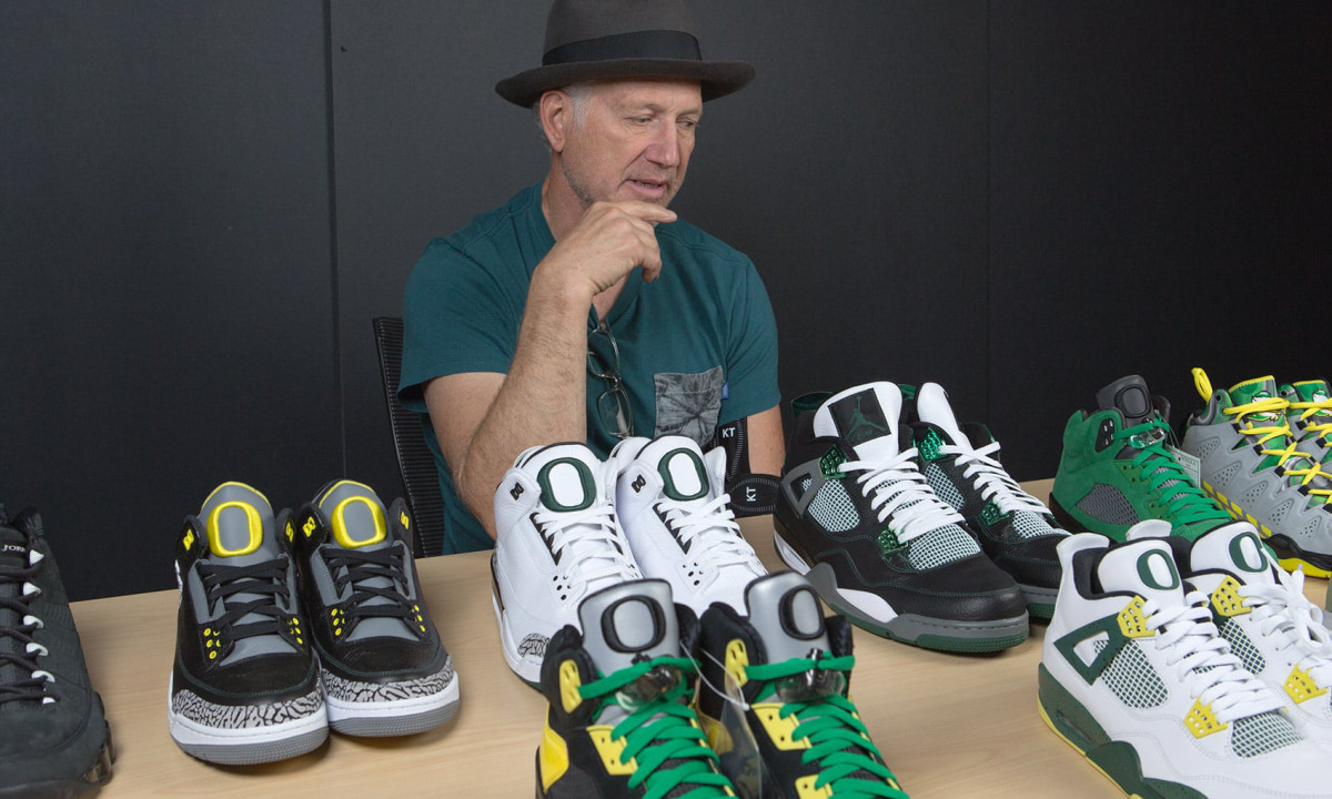 Tinker Hatfield Looks Back At The University Of Oregon X