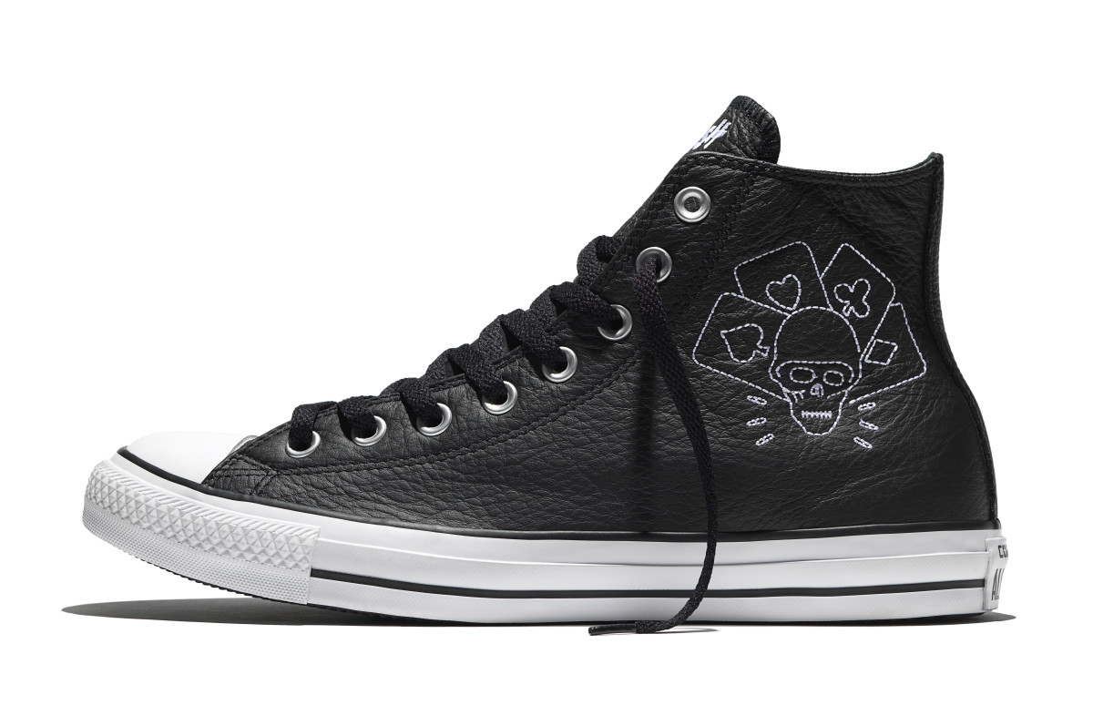 Converse Pays Homage to The Clash With New Chuck Taylor Collection ... b2a0ed8c5