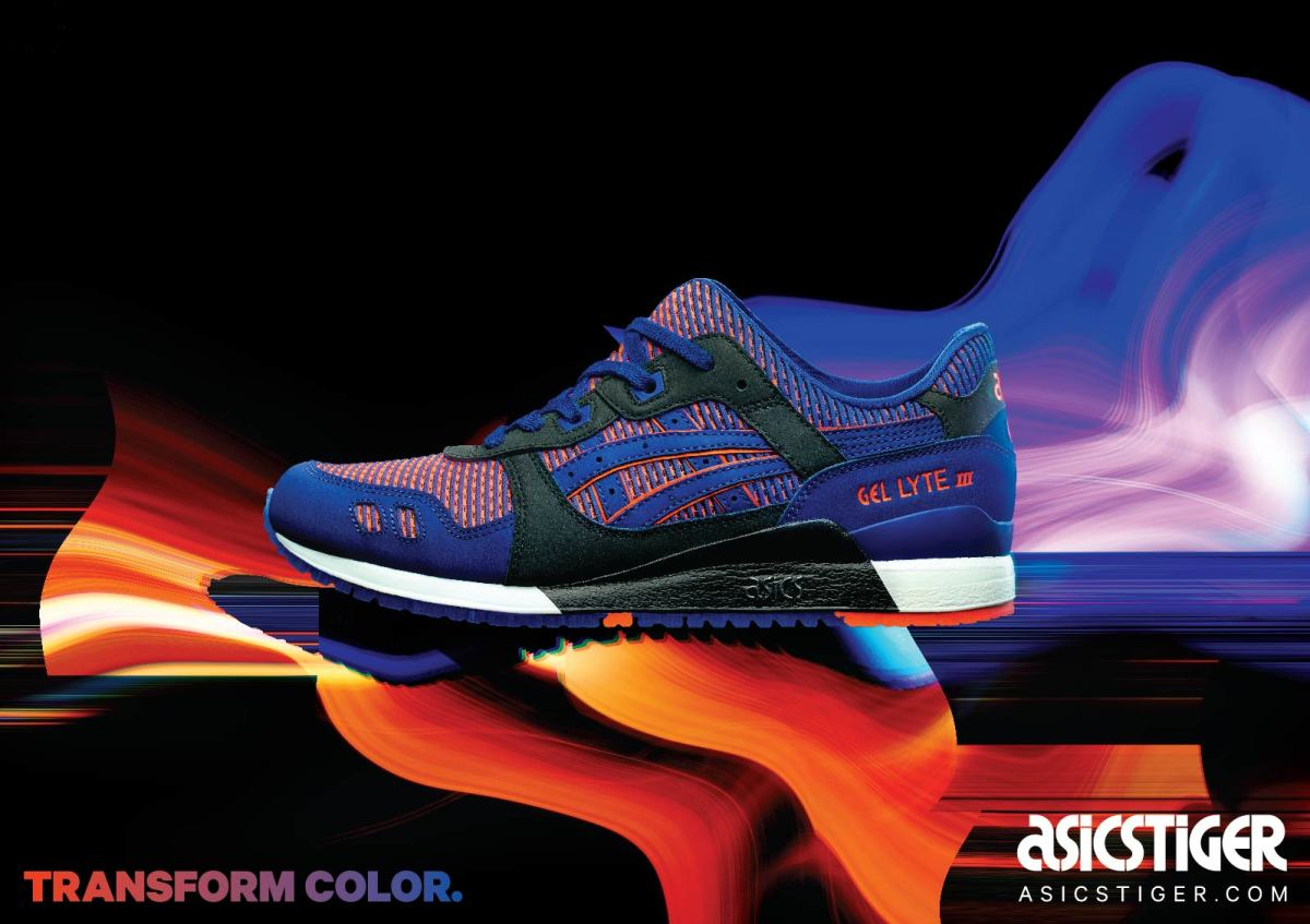 Deshonestidad suizo desayuno  ASICS Tiger Rolls Out New Campaign Centered Around Color-Changing  Chameleoid Mesh - Freshness Mag