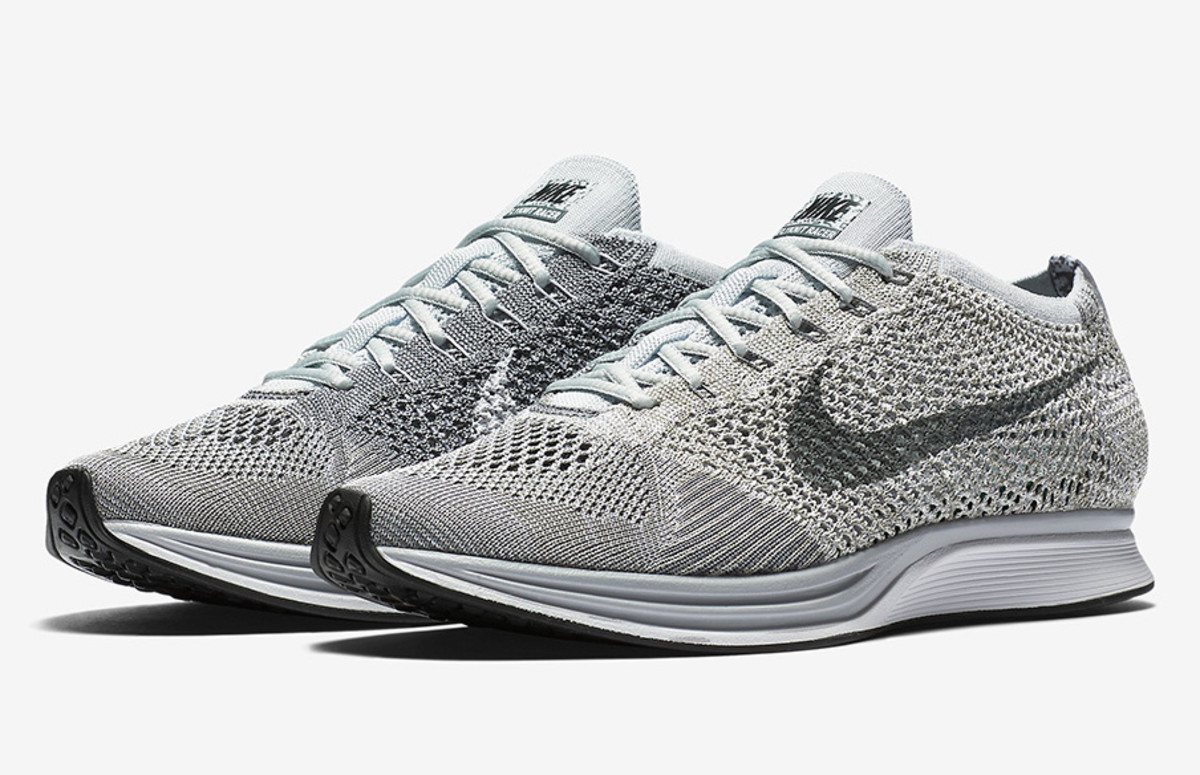 b942720b3cc2d The Nike Flyknit Racer Is Set to Launch In a Pure Platinum Colorway ...