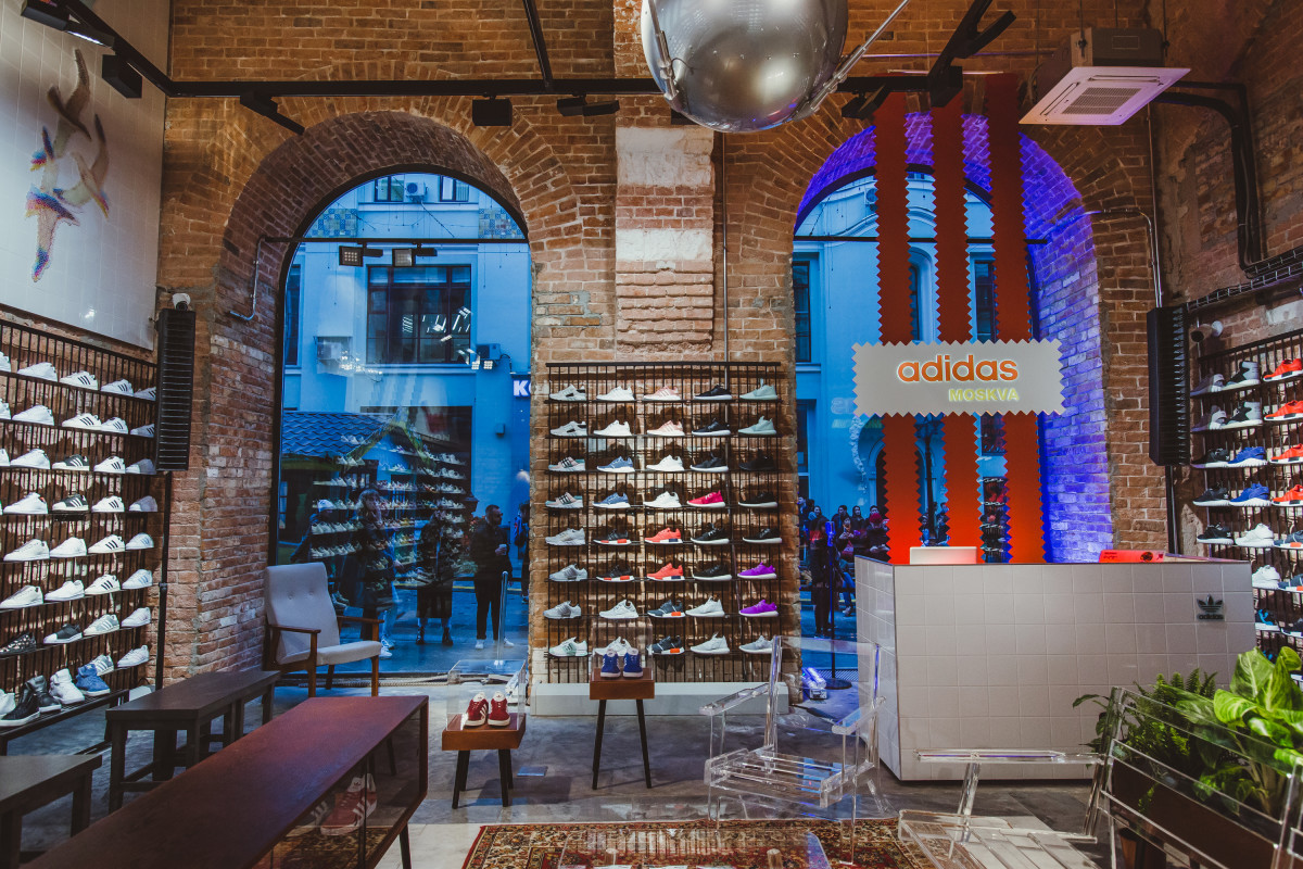 adidas Originals Opens First Flagship Store in Moscow ...