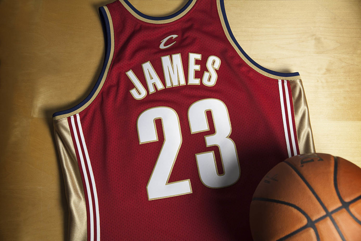 reputable site f367d 73f4c Mitchell & Ness Unveils LeBron James Rookie Jersey ...