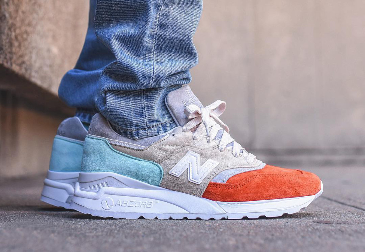 online store 2a630 7fa3e Ronnie Fieg Previews His New Balance 997.5