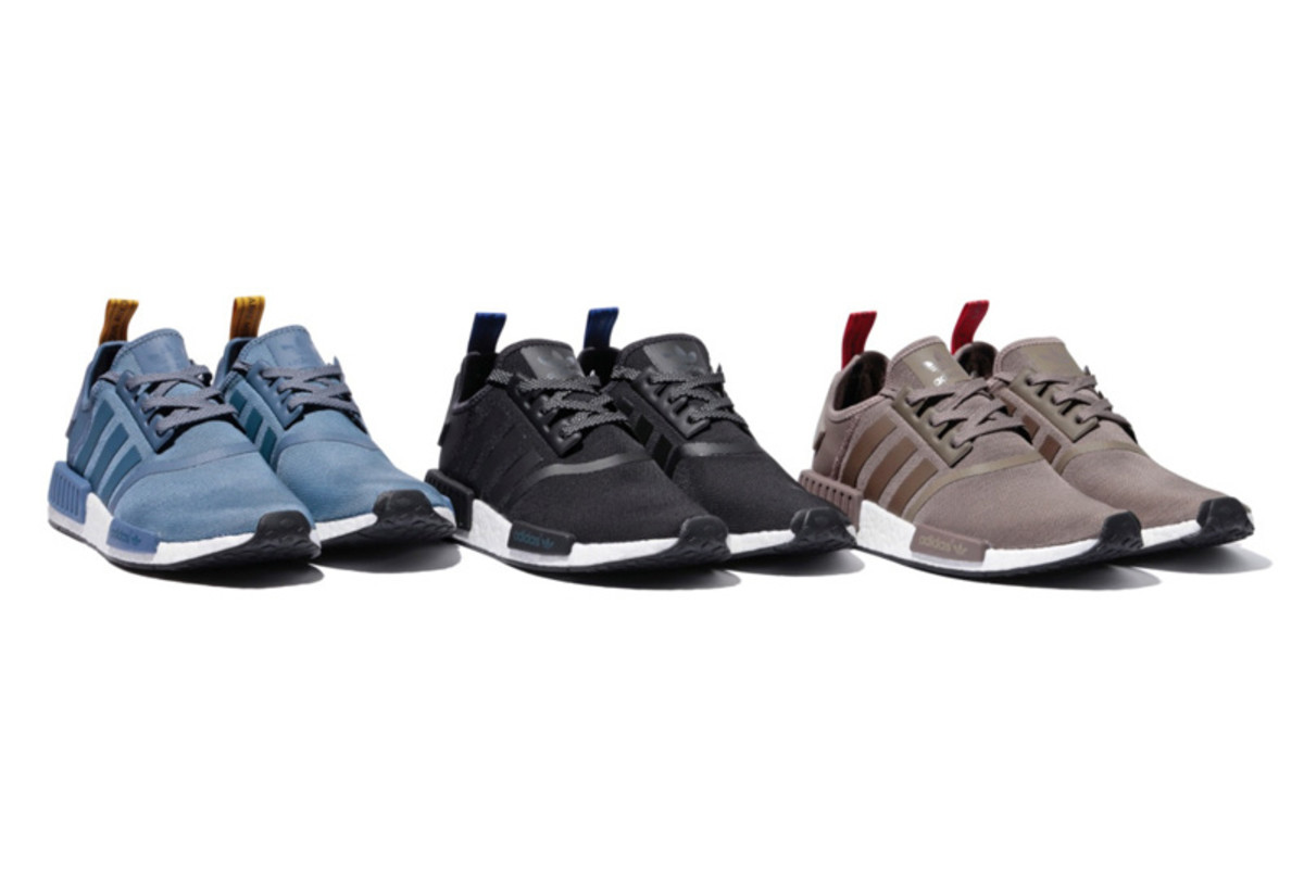 Adidas NMD R1 Core Black Grey Red Glitch Camo Pack Nomad